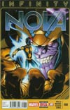 Nova Vol 5 #8 Cover A Regular Ed McGuinness Cover (Infinity Tie-In)