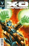 X-O Manowar Vol 3 #17 Cover A Regular Will Conrad Cover