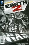 Earth 2 #14 Cover B Incentive Juan Doe Sketch Cover