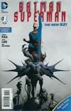 Batman Superman #1 Cover C Combo Pack Without Polybag