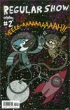 Regular Show #2 Cover B Regular David McGuire Cover
