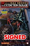 Extinction Parade #1 Cover G Midtown Exclusive Raulo Caceres Variant Cover Signed By Max Brooks