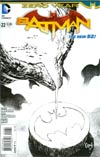 Batman Vol 2 #22 Cover E Incentive Greg Capullo Sketch Cover (Batman Zero Year Tie-In)