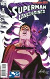 Superman Unchained #2 Cover K Incentive 75th Anniversary Superman vs Parasite Variant Cover By Rafael Albuquerque