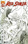Red Sonja Vol 5 #1 Cover I Incentive Colleen Doran Black & White Cover