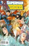 Superman Wonder Woman #1 Cover A Regular Tony S Daniel Cover