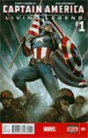 Captain America Living Legend #1 Cover A Regular Adi Granov Cover