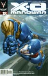 X-O Manowar Vol 3 #18 Cover A Regular Clayton Crain Cover