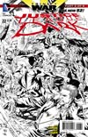 Justice League Dark #22 Cover C Incentive Ivan Reis Sketch Cover (Trinity War Part 3)