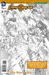 Larfleeze #2 Cover B Incentive Rags Morales Sketch Variant Cover