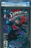 Superman Unchained #1 Cover N 3D Motion Cover CGC 9.8