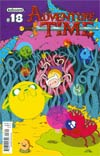 Adventure Time #18 Cover A Regular Mike Holmes Cover