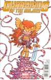 Guardians Of The Galaxy Vol 3 #5 Cover B Variant Skottie Young Baby Cover (Age Of Ultron Tie-In)