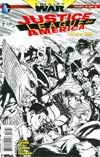 Justice League Of America Vol 3 #7 Cover F Incentive Doug Mahnke Sketch Cover (Trinity War Part 4)