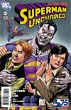 Superman Unchained #3 Cover K Incentive 75th Anniversary Superman vs Bizarro Variant Cover By Ethan Van Sciver