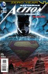 Action Comics Vol 2 #25 Cover A Regular Aaron Kuder Cover (Batman Zero Year Tie-In)