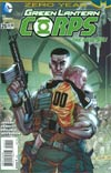 Green Lantern Corps Vol 3 #25 Cover A Regular Bernard Chang Cover (Batman Zero Year Tie-In)