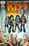 KISS Kids #4 Cover B Variant Jose Holder Love Gun Album Subscription Cover