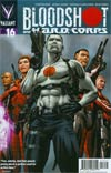 Bloodshot And H.A.R.D. Corps #16 Cover A Regular Patrick Zircher Cover