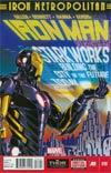 Iron Man Vol 5 #18 Cover A Regular Paul Rivoche Cover