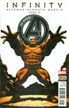 New Avengers Vol 3 #12 (Infinity Tie-In)