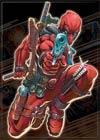 Marvel Comics 2.5x3.5-inch Magnet - Deadpool Crouched (21279MV)