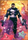 Marvel Comics 2.5x3.5-inch Magnet - Punisher Happy Stars (21281MV)