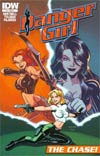 Danger Girl The Chase #1 Cover C Incentive Logan Wallace IDW Gets Animated Variant Cover