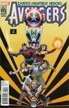 Avengers Vol 5 #19 Cover E Variant John Cassaday Avengers In The 1990s Cover (Infinity Tie-In)