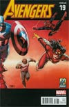 Avengers Vol 5 #19 Cover F Variant John Cassaday Avengers In The 2000s Cover (Infinity Tie-In)