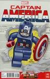 Captain America Vol 7 #12 Cover B Incentive Leonel Castellani Lego Color Variant Cover