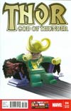 Thor God Of Thunder #14 Cover B Incentive Leonel Castellani Lego Color Variant Cover