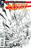 Justice League Of America Vol 3 #8 Cover E Incentive Ken Lashley Sketch Cover (Forever Evil Tie-In)