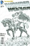 Wonder Woman Vol 4 #24 Cover B Incentive Cliff Chiang Sketch Cover