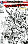 Justice League Vol 2 #24 Cover E Incentive Ivan Reis Sketch Cover (Forever Evil Tie-In)