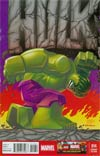 Indestructible Hulk #14 Cover C Incentive Leonel Castellani Lego Color Variant Cover