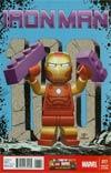 Iron Man Vol 5 #17 Cover C Incentive Leonel Castellani Lego Color Variant Cover