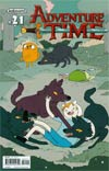 Adventure Time #21 Cover A Regular Emily Partridge Cover