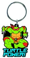 Teenage Mutant Ninja Turtles Soft Touch Keyring - Raphael