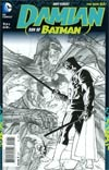 Damian Son Of Batman #1 Cover C Incentive Andy Kubert Sketch Cover