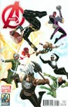 Avengers Vol 5 #22 Cover B Variant Avengers 50th Anniversary Cover (Infinity Tie-In)
