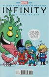 Infinity #5 Cover B Variant Skottie Young Baby Cover