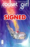 Rocket Girl #1 Cover C 1st Ptg Signed By Brandon Montclare & Amy Reeder