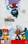 Amazing X-Men Vol 2 #1 Cover C Variant Skottie Young Baby Cover