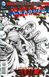 Justice League Of America Vol 3 #9 Cover E Incentive Doug Mahnke Sketch Cover (Forever Evil Tie-In)