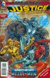 Justice League Vol 2 #28 Cover B Combo Pack With Polybag (Forever Evil Tie-In)
