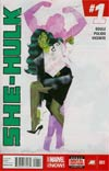 She-Hulk Vol 3 #1 Cover A 1st Ptg Regular Kevin Wada Cover