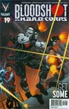Bloodshot And H.A.R.D. Corps #19 Cover B Variant Bart Sears Cover