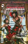 Grimm Fairy Tales Presents Wonderland Clash Of Queens #1 Cover B Alfredo Reyes (Age Of Darkness Tie-In)