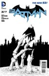 Batman Vol 2 #26 Cover E Incentive Greg Capullo Sketch Cover (Zero Year Tie-In)